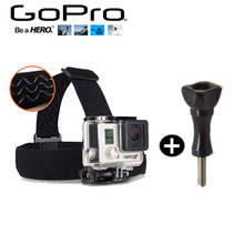 Gopro Accessories Headband Chest Headstrap Head Tripod Helmet Strap + Screw Mount For SJ4000 Go Pro 5 3 4 SJCAM SJ5000 Xiaomi Yi