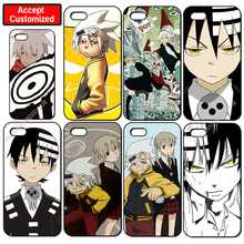 Japan Anime SOUL EATER Cover Case for iPhone 4 4S 5 5S SE 5C 6 6S 7 8 Plus X iPod Touch 5 LG G2 G3 G4 G5 G6(China)