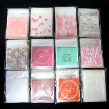 Multi Designs Cute mini OPP Gift Bag Wedding Party Favors Cookie Candy Jewelry Packaging 100pcs/pack 7*7+3cm(China)