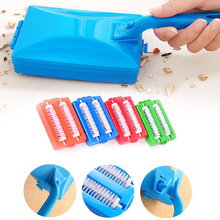 2 Brushes Heads Handheld Carpet Table Sweeper Crumb Brush Cleaner Roller Tool