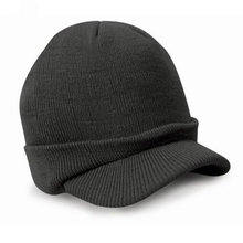 2017 Fashion Army Style Cap Warm Winter Hat Knitted Hats Casquette for Women and Men Candy Color(China)