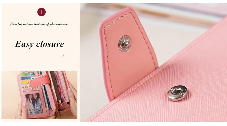 HTB195ynSFXXXXbSapXXq6xXFXXXw - 2018 new fashion women wallet leather brand wallets women wholesale lady purse High capacity clutch bag for women gift