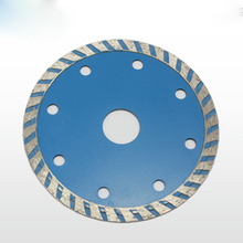 114MM corrugated sheet of diamond saw blade marble cutting blade for dry cutting concrete wall without burning(China)