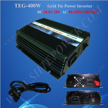on grid tie inverter 10.8-30V input 400w Inverter tie grid 400W Grid Tie Solar Inverter