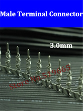 Free Shipping 300pcs ATX / EPS Molex Male Crimp Terminals 43031-0001 3.0mm Housing Plastic Shell Connectors Universal