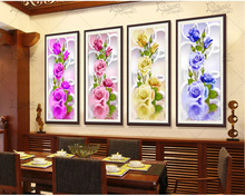 2017 Rushed Sale Diy 5d Full Diamonds Embroidery Peony Flowers Round Diamond Painting Cross Stitch Kits Mosaic Home Decoration(China)