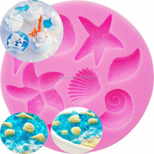 Milkmico M190 Cake Tools Conch Shells Silicone Forms Silicone Molds Cake Decorating Chocolate Mold Baking