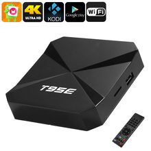DJYG T95E Rock chip RK3229 Quad-Core Android 6.0 TV BOX 2GB/8GB WiFi Google Play Store Pre-installed Media Player IPTV Box(China)