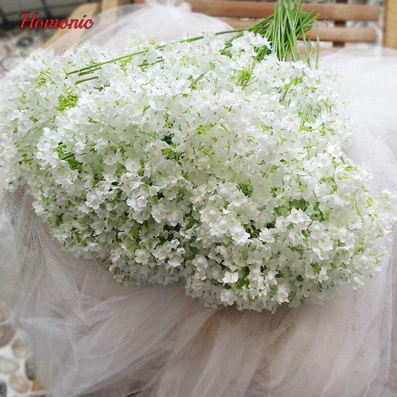 Artificial Gypsophila Baby S Breath Silk Flowers Bouquet Fiori Artificiali Per La Cerimonia Nuziale Hot