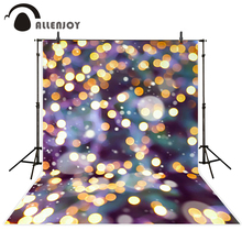 Allenjoy photo background Purple background golden little dots bokeh Camera photography Background for photo for photographing