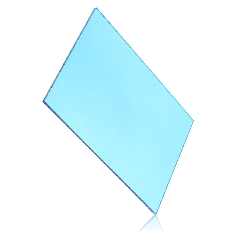 148*105*3mm Transparent Blue Acrylic Plate Clear (Extruded) Home Decor Plexiglass Plastic Transparent Sheet Promotion Price(China)