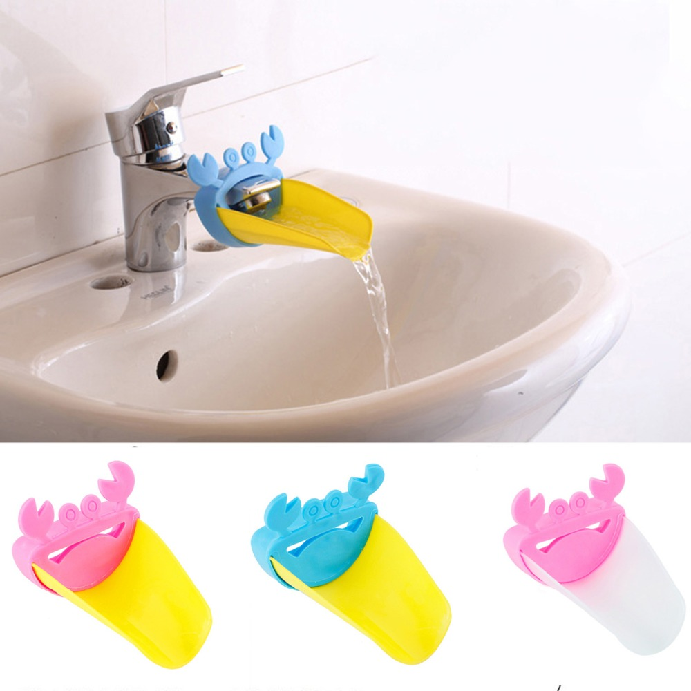 Faucet Extender Set,Silicone Faucet Extender Cover,Bathtub and Kitchen Faucet Sink Handle Extender for Babies Green,Blue,Pink Toddlers Kids and Children