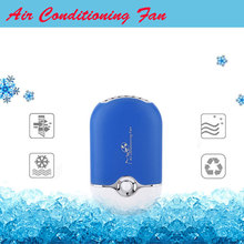 Summer Office Mini Pocket USB Fan Air Conditioning Fan Rechargeable Portable USB Gadget Fan ventilateur 400 ma Housing Eletric(China)