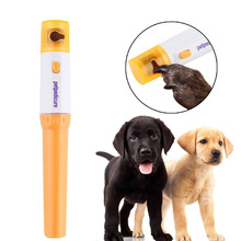 Pet nail clipper Pedi Painless Pet Dogs Cats Paw Nail Trimmer Cut Electric Pets Grinding Grooming Product(China)