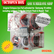 100% Original new Octopus box for Samsung imei repair and unlock with 18 cables(China)