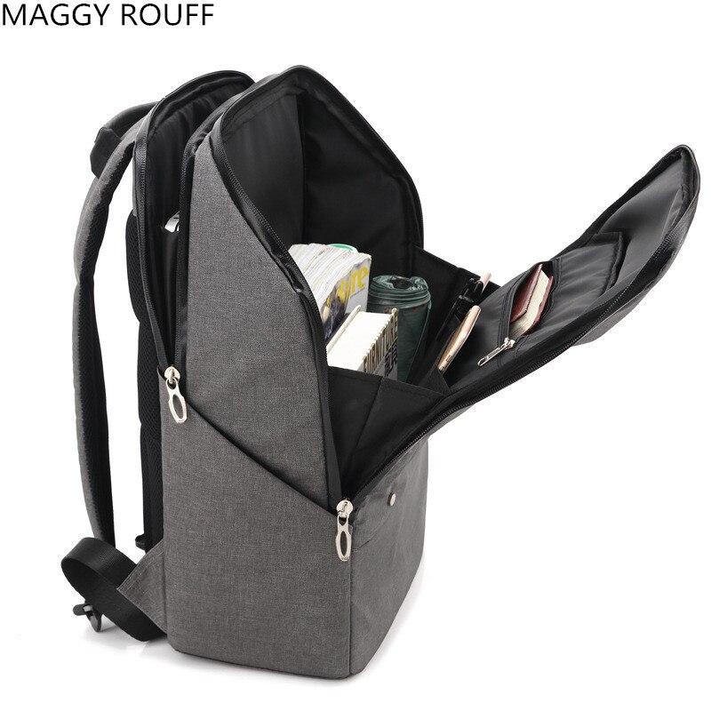 New Mens Backpack Waterproof Business Casual Computer Bag Mens Laptop Backpack Large-capacity  School Backpack <br>