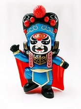 10pcs/lot Chinese tranditional culture Face-changing in Sichuan Opera doll change face/face off children gift baby toy(China)