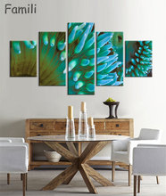 5 Pcs/Set Modern Painting Home Decorative Art Picture Paint on Canvas Prints The fascinating underwater world,oil painting