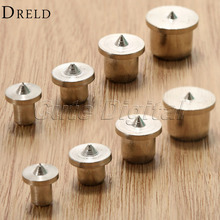 8pcs Woodworking Tools Dowel Centre Point Pin Set 6/8/10/12mm Dowel Tenon Center Set Transfer Plugs Wood Drill Power Accessories