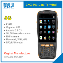 Android 5.1 4G Hand held 2D Barcode Scanner PDA3503(China)