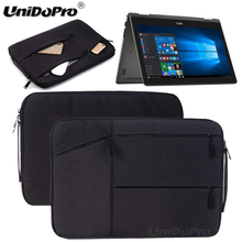 "Unidopro Notebook Sleeve Briefcase for Dell i5368-10024GRY 13.3"" 2-in-1 Laptop Intel Core i7-6500U Mallette Carrying Bag Cover"