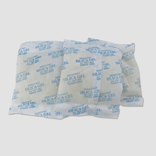 5pcs/lot 200g Silica Gel Packets Moisture Absorber Desiccant Packs Non-Toxic Reusable Silicagel Absorbant Dehumidifier Drier Bag