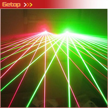 New Arrival Customized RED+Green Laser Glasses angle adjustable Night Club Stage Props Party Accessory Flashing Glasses