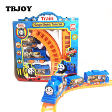 Kids Baby Interesting Electric Anime Machines Railway Trains Models Action Figures Toys Christmas Party Gifts for Children Boys