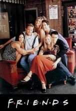 FRIENDS - TV SHOW(SITTING ON COUCH)  art silk Poster