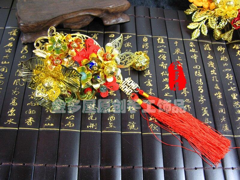 Gold cloth insert comb classical costume the bride hair accessory hanfu cheongsam accessories<br><br>Aliexpress