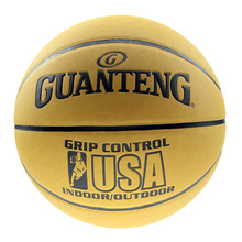 Quality Official Size 7 Cow Leather Basketball indoor and outdoor Ball Match Training Equipment Basketball