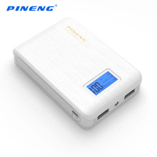 PINENG Power Bank 10000mah Dual USB Portable Charger Mobile Phone Backup Powers External Battery Charger For iPhone xiaomi mi(China)