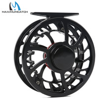 Fly Reel Exclusive Super Light HVC 5/6WT CNC Machine Cut Large Arbor Aluminum Fly Fishing Reel