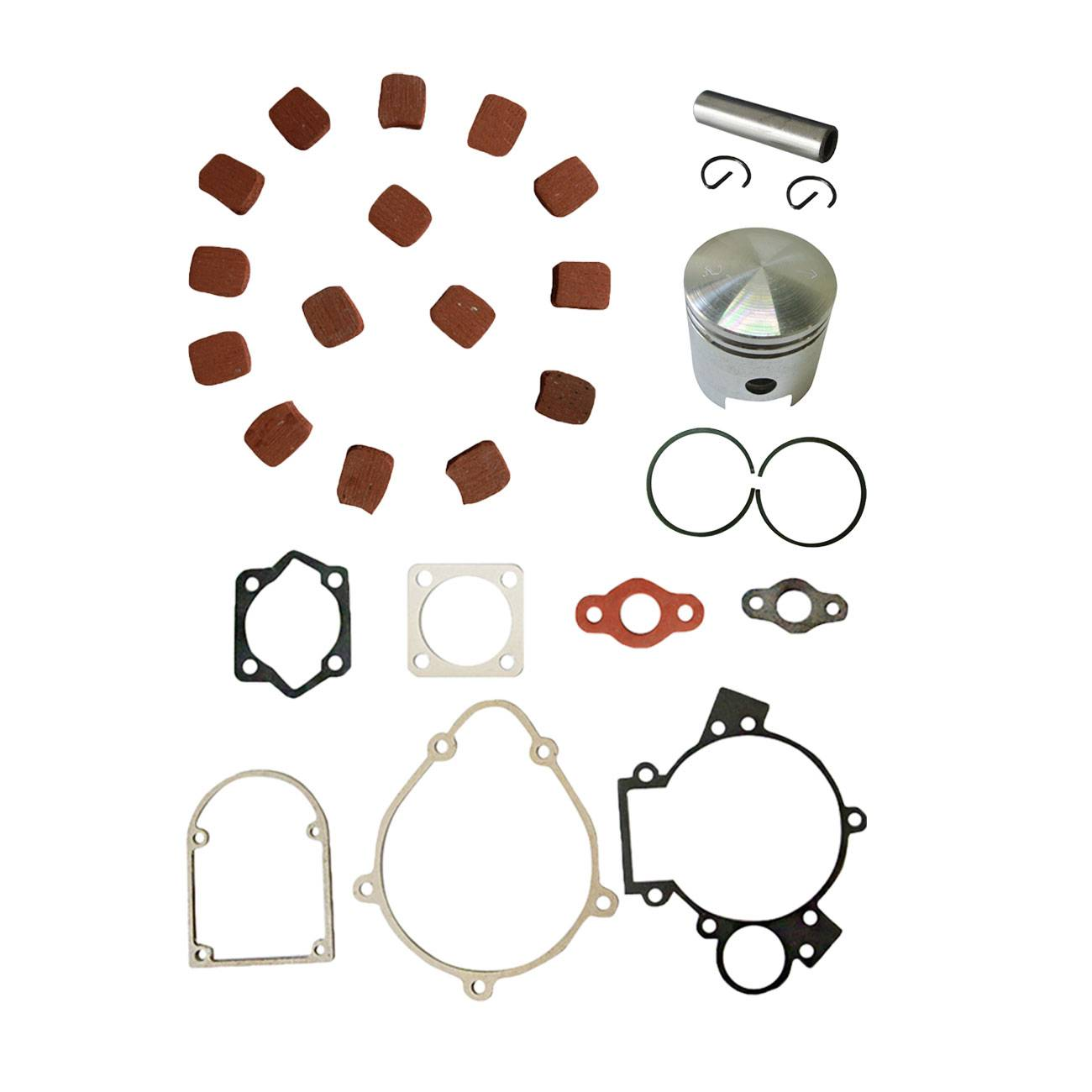 15Pcs Engine Clutch Pads Square Shape For 49cc-80cc Bicycle Motorized