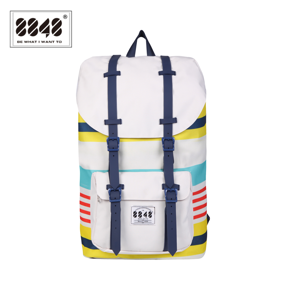 8848 Brand Backpack Unisex Travel Backpack Bag Big Capacity 20.6 L Popular Polyester European And American StyleExcellent C051-A<br>