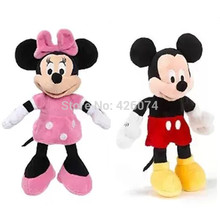 New Mickey Minnie Donald Duck Pluto Dog Plush For Girls Boys Mini 22CM Kids Stuffed Animals Toys Children Christmas Gifts