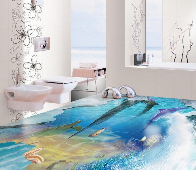 3d wallpapers 3d floor The underwater world room wallpaper landscape vinyl flooring adhesives 3d stereoscopic wallpaper<br><br>Aliexpress