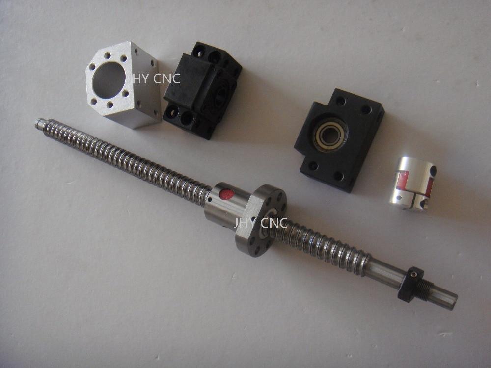 Ball Screw 1605 -L500mm +Ballnut Housing+ Couplers + 2 end blocks CNC Machine<br>