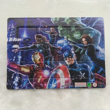 The Avengers Captain 4 pieces Paper jigsaw puzzles for children kids toys educational Puzzles