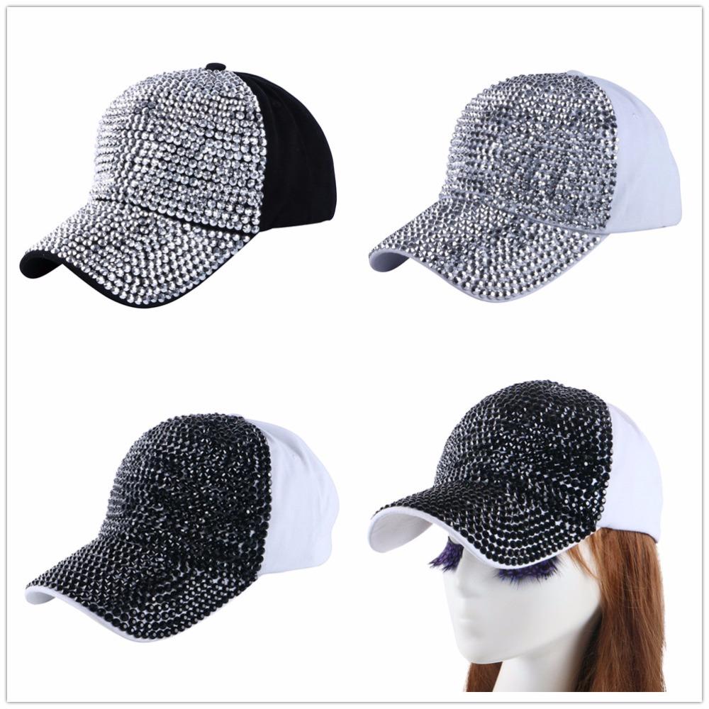 High Quality WOMEN brand baseball cap new fashion rhinestone crystal denim snapback caps wholesale woman hip hop snapbacks hats 6