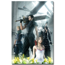 Final Fantasy XV Characters Art Silk Fabric Poster Print 13x20 24x36 inch Game Sephiroth Pictures for Living Room Wall Decor 016