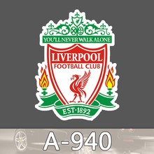 A-940 Premier League Football Team Vinyl Decal Sticker for Kids Waterproof Cool Moto Graffiti Laptop Luggage Notebook Stickers
