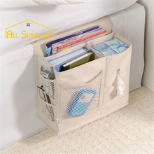 Bed Sofa Hanging Bag Bedside Deskside Sundries Pocket Toy Books Magazines Phone Storage For Wardrobe Pouch Organizer Tissue