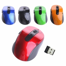 2.4G USB Wireless Optical Mouse Mice Nano Receiver For Win Vista Laptop PC -R179 Drop Shipping