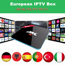 Buy Europe IPTV Box S912 H96 PRO Android 6.0 2GB/16GB Spain Germany Italy Turkey Portugal IPTV free 1 Year Smart Android TV Box for $99.45 in AliExpress store