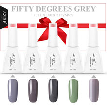 Azure 12ML UV Nail Gel Polish Soak Off Nail Gel Grey/Red Color Gel Polish DIY Nail Art Varnish For Choose UV Gel Polish