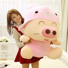 Fancytrader 37'' / 95cm Giant Big Super Cute Stuffed Soft Plush McDull Pig Toy, 4 Models Available, Free Shipping FT50371
