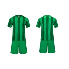 men's training short sleeve jersey breathable running sets sportswear soccer team football kits adult DIY logo good qualitygreen