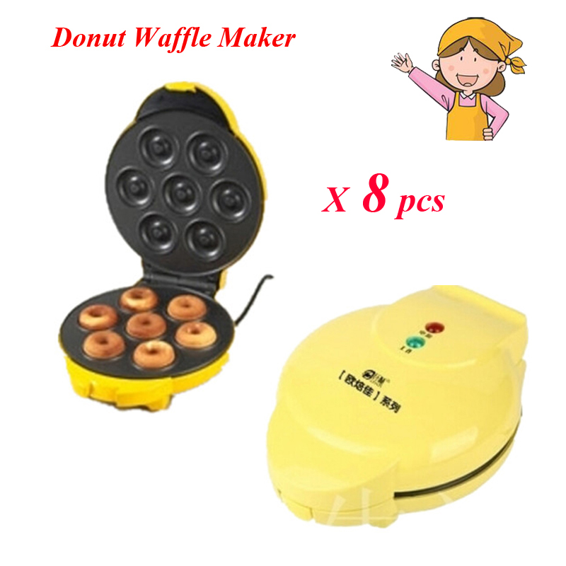 8pcs/lot FS-508N New Two-Side Heating Full Automatic Electric Donut Egg Cake Maker Ball Mould Machine<br><br>Aliexpress
