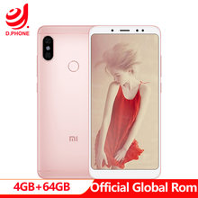"Оригинальный Xiaomi Redmi Note 5 AI Global rom 5,99 ""FHD Snapdragon 636 4 Гб ОЗУ 64 Гб ПЗУ 4 г LTE мобильный телефон 13.0MP двойная AI камера(Hong Kong,China)"